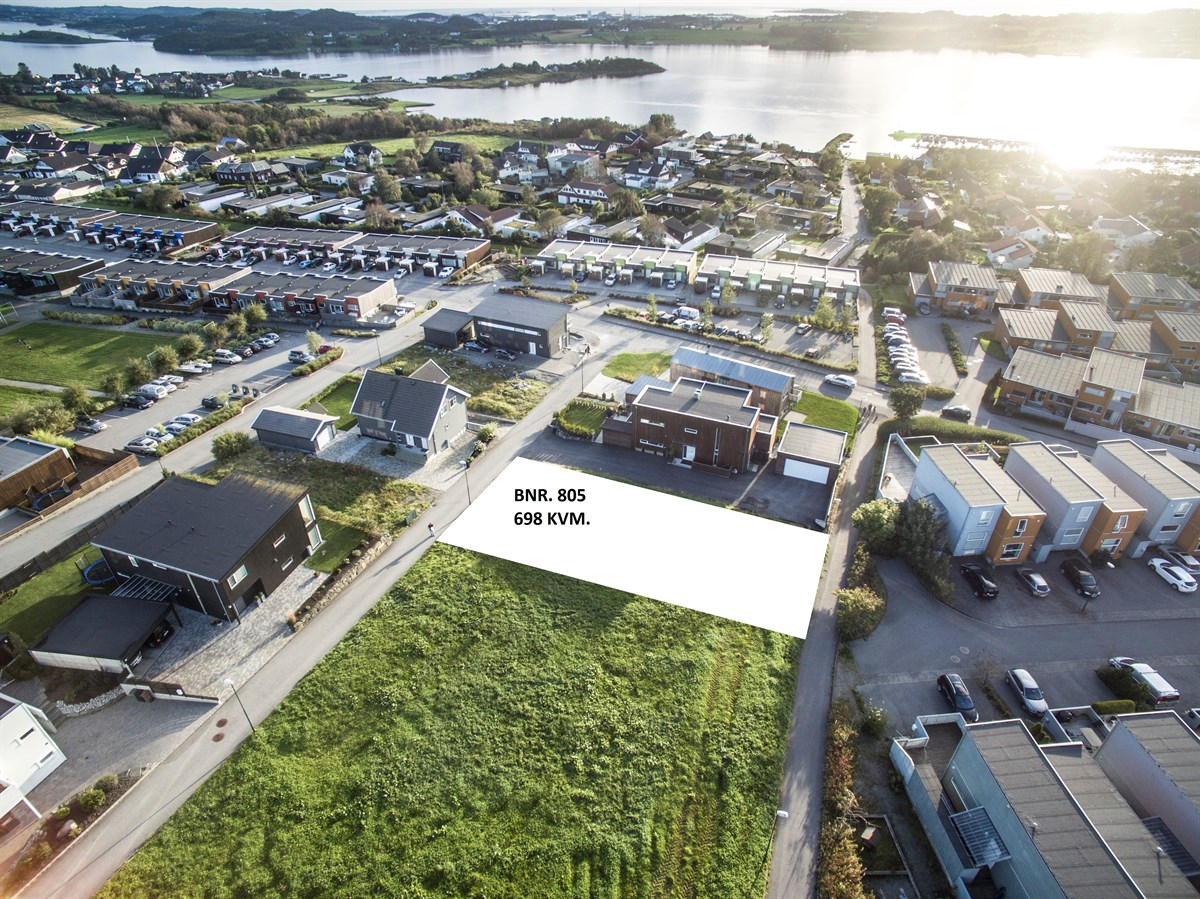 Boligtomt - hafrsfjord - 3 100 000,- - Huus & Partners