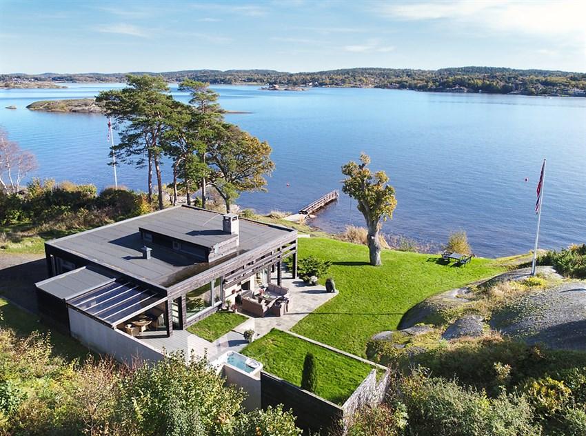Hytte - larvik - 14 800 000,- - Leinæs & Partners