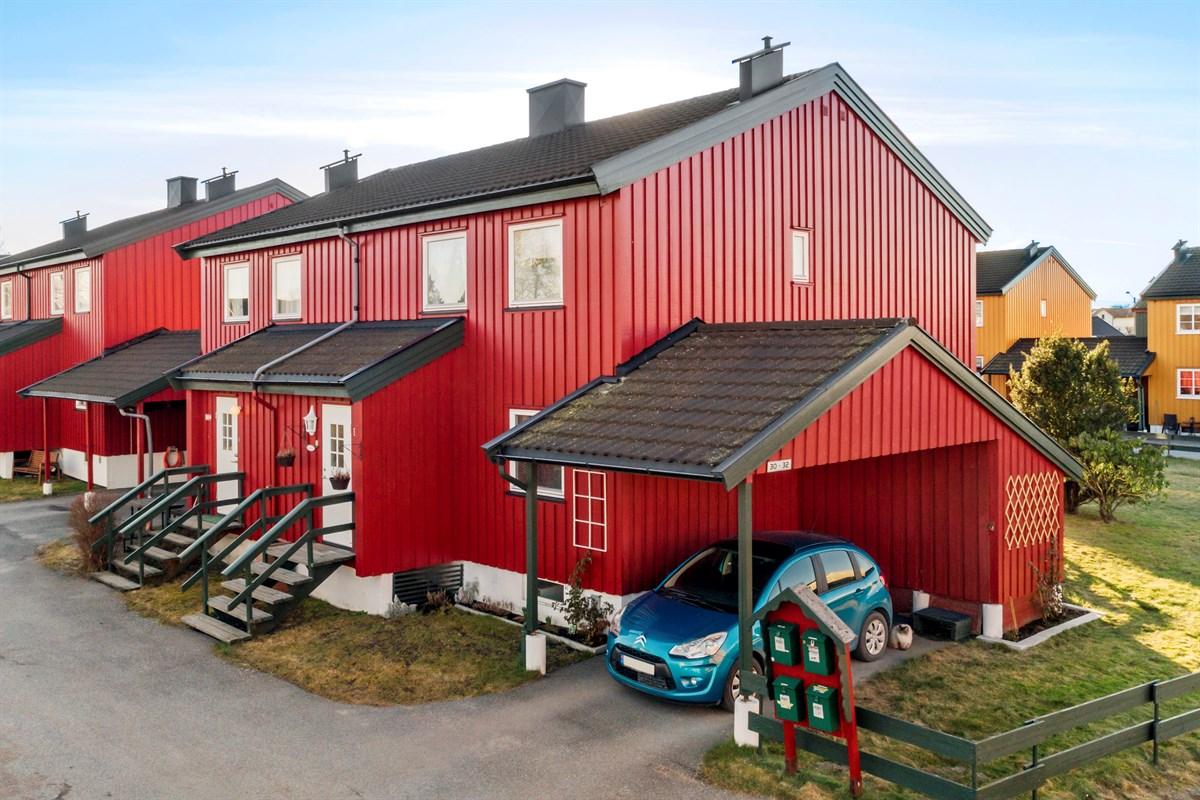 Rekkehus - borgenhaugen - 2 300 000,- - Grimsøen & Partners