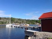 Bryggeanlegg hvor det er mulighet for kjøp av båtplass