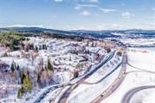 Området har mange fantastiske turområder som har skogs- og grusveier samt sykkelveier som kan benyttes både på sommeren og vinteren.