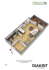 Plantegning 3D 1. etasje