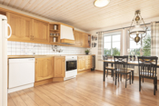 God plass på kjøkkenet