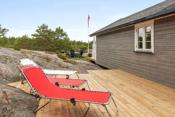 Solen kan nytes på verandaen