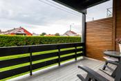 Terrasse med direkte utgang fra stuen