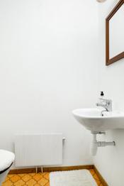 Rom med toalett i hybelen