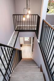 Fine detaljer på trappen.
