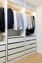 bod/walk in garderobe