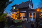Spennende enebolig med sommer stue og stor terrasse