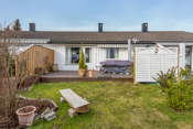 Fint rekkehus med solrik terrasse- hyggelig have