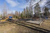 Lekeplass beliggende på sameiets fellesareal.