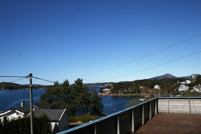 Terrasse med utsikt