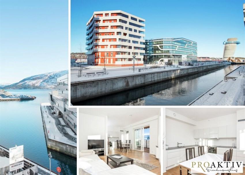 Proaktiv eiendomsmegling har gleden av å presentere en lys og moderne leilighet i Hinna Park.