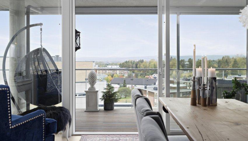 Velkommen til Jessheim Panorama og denne flotte, romslige selveierleiligheten!