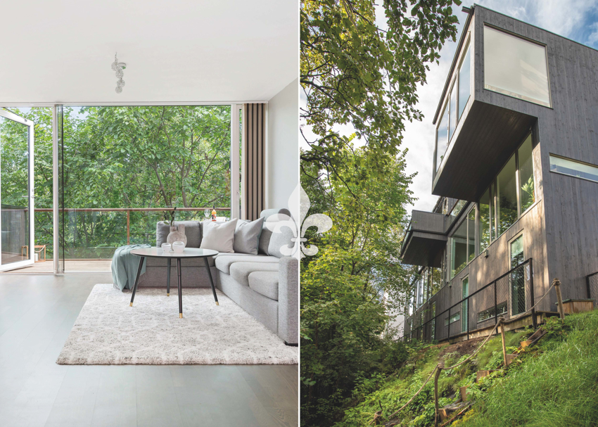 Henrik Ibsens vei 101 - Lekkert rekkehus med god planløsning, solfylte uteplasser og garasje m/ el-bil lader.