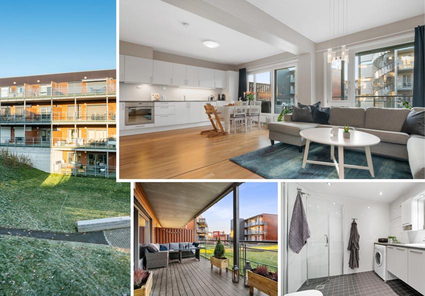 Proaktiv Eiendomsmegling ved Lisbeth Kristengård ønsker deg velkommen til en praktisk og moderne 3-roms selveierleilighet på Utleir/Risvollan.