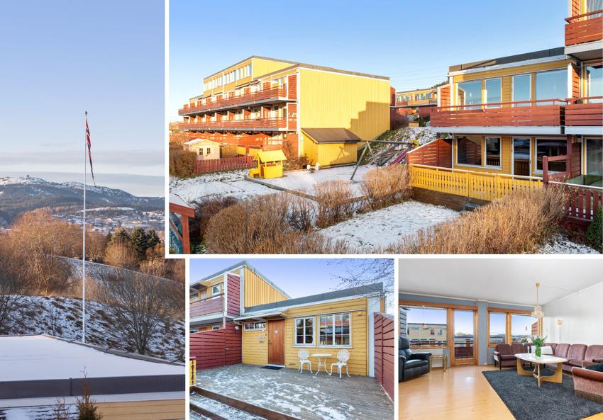 Proaktiv Eiendomsmegling ved Lisbeth Kristengård har gleden av å presentere denne endebeliggende leiligheten på familievennlige Risvollan