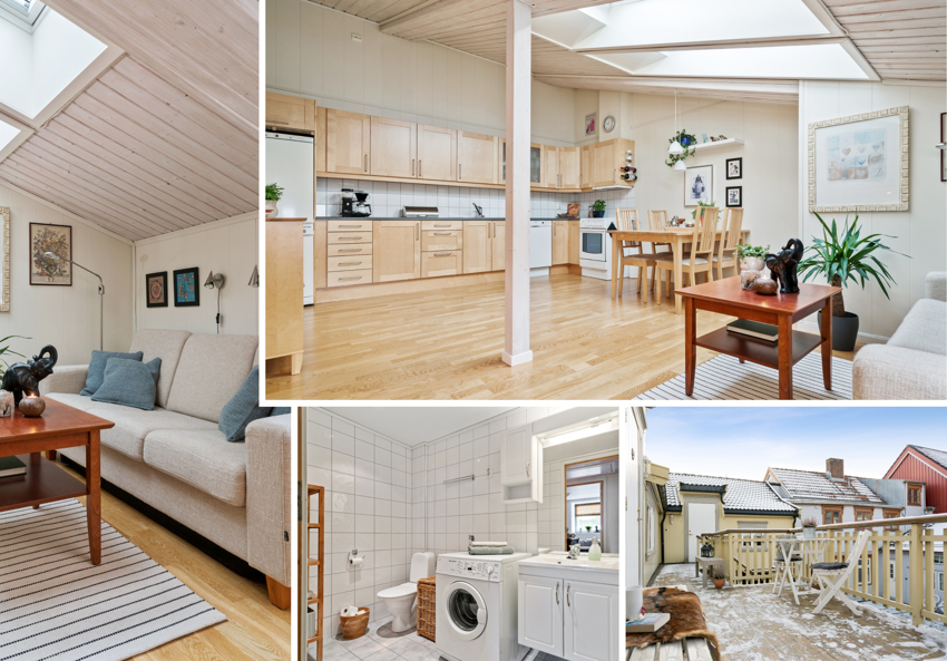 PROAKTIV Eiendomsmegling har gleden av å presentere denne unike og sjarmerende 3-roms selveierleiligheten på sentrale Ila.