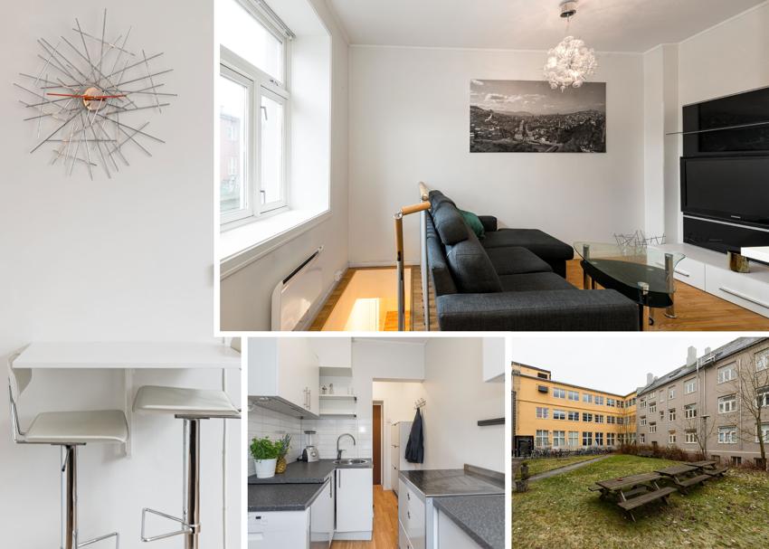 Proaktiv Eiendomsmegling har gleden av å presentere denne smarte og arealeffektive leiligheten på populære Buran/Lademoen.