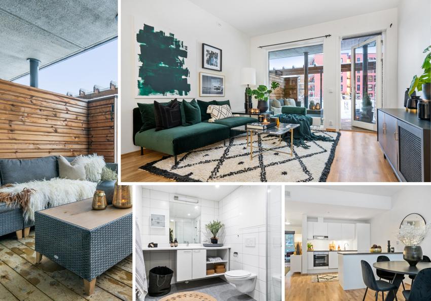 Proaktiv Eiendomsmegling ved Mads Kirkeslett har gleden av å presentere denne flotte 3-roms leiligheten med en svært ettertraktet beliggenhet på Lade/Lilleby.