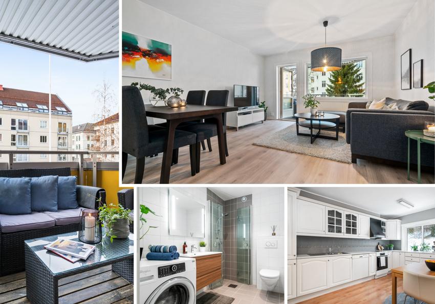 Proaktiv Eiendomsmegling v/ Christina Hornes har gleden av å presentere en stor og fin 3-roms leilighet med tilbaketrukket og sentrumsnær beliggenhet like ved Høyskoleparken.