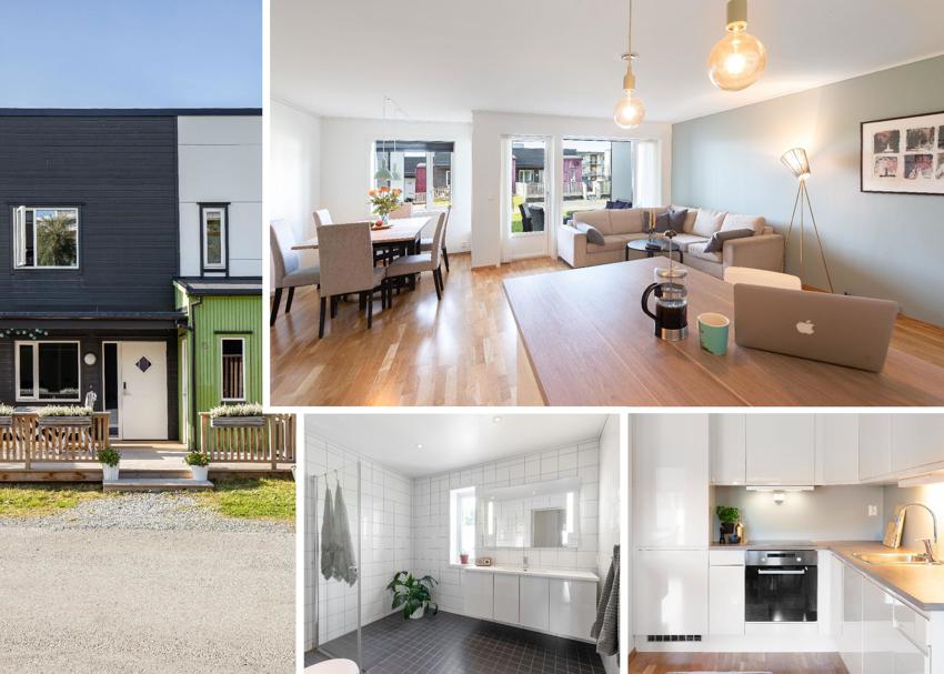 Proaktiv Eiendomsmegling ved Tore Resell og Kristoffer Menne har gleden av å presentere dette flotte rekkehuset fra 2014 beliggende i et familievennlig område i Fossegrenda.