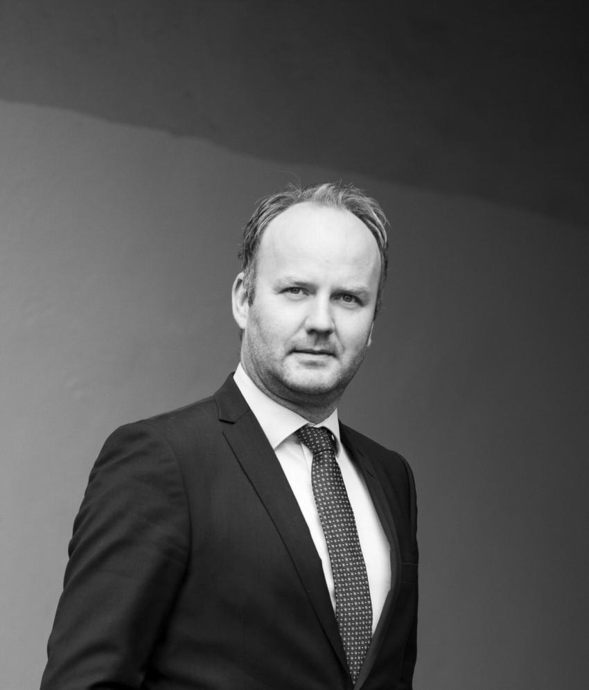 Portrettbilde av Knut Erik Schjøtt