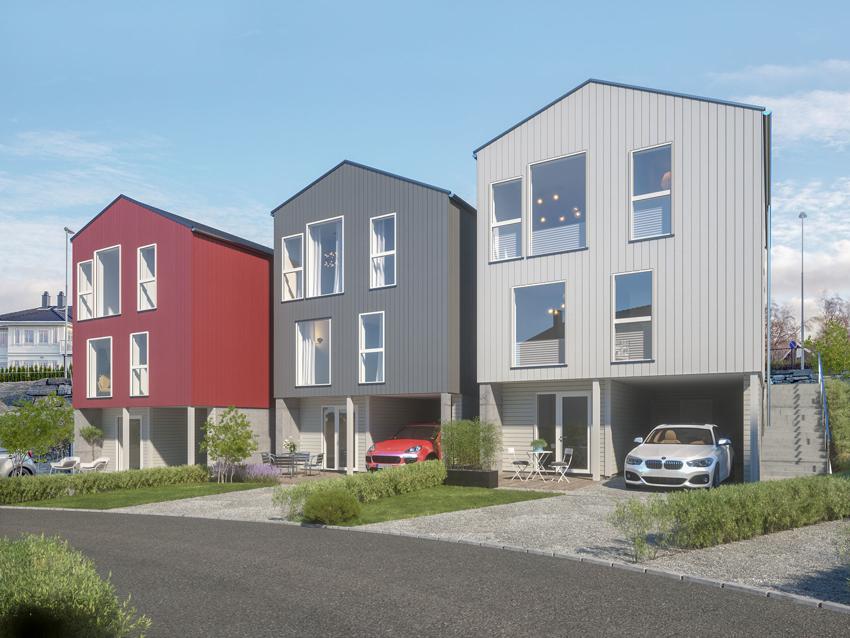 Flott prosjektert bolig over 3 plan i idylliske omgivelse - Øster Hus