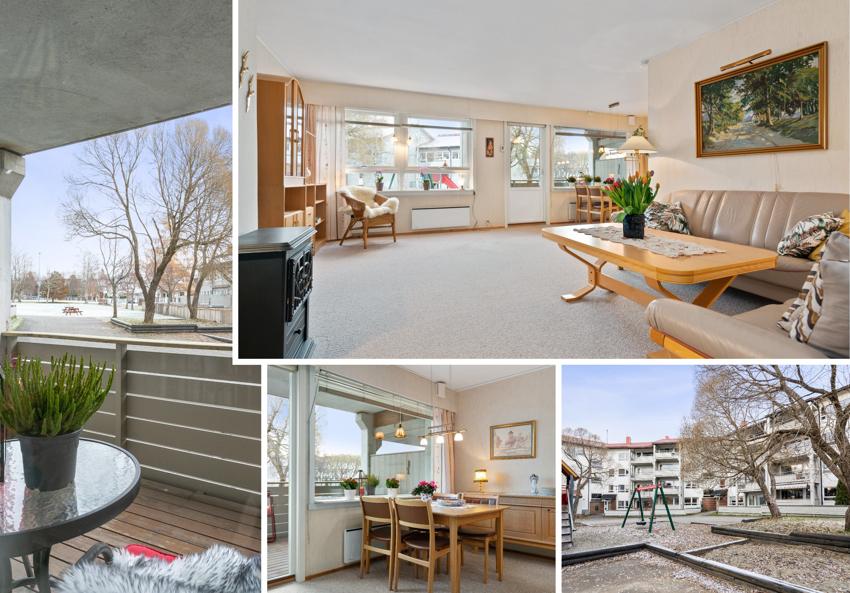 Proaktiv Eiendomsmegling v/Roy Tore Thorvaldsen presenterer en meget romslig 3-roms leilighet i et attraktivt boområde