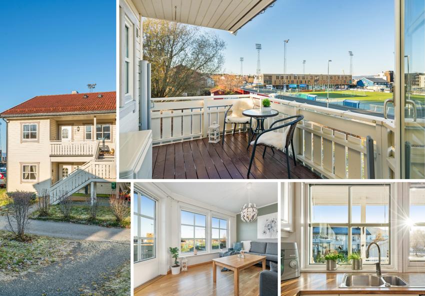 Velkommen til en fint beliggende leilighet ved idrettsanlegget på Ranheim. Leiligheten har 2 soverom og ligger i 2. etasje.