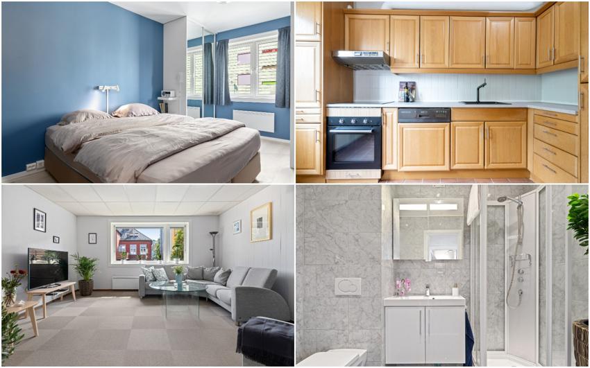 Velkommen til denne svært godt beliggende 2-romsen rett ved populære Solsiden og Møllenberg. Leiligheten holder en god standard med nyere bad, svært god lagringsplass og romslige oppholdsrom.