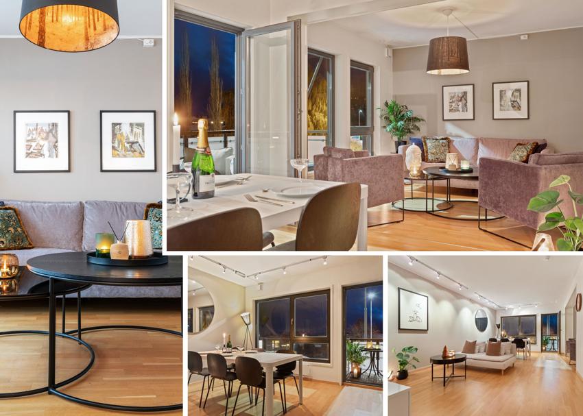 Velkommen til en meget pen og svært romslig 3-roms leilighet med sentral beliggenhet på Byåsen.