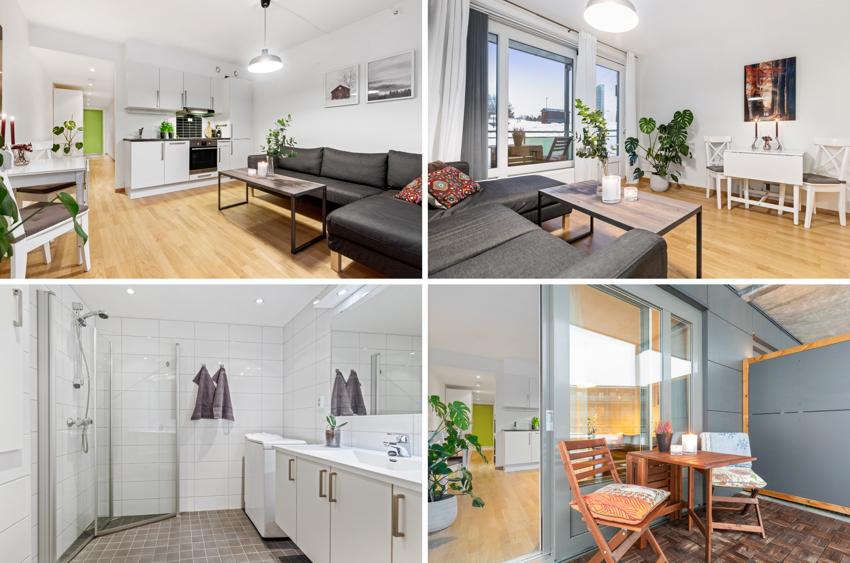 PROAKTIV Eiendomsmegling ved Steinar Skaanes ønsker velkommen til en nyere, lys og moderne 2-roms selveierleilighet i 2. etasje.
