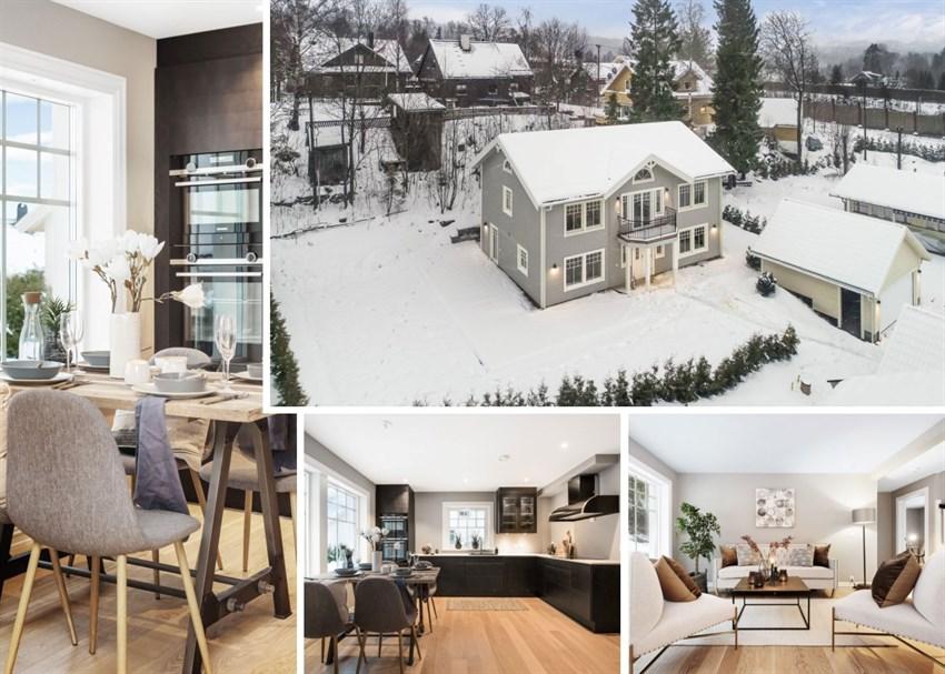 Helt ny villa i barnevennlig område til salgs ved Fredrik von Krogh - Proaktiv Bolig og Prosjektmegling.