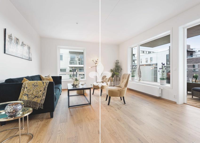 Delikat og moderne leilighet til salgs ved Lasse Bastrup - Proaktiv Bolig og Prosjektmegling.