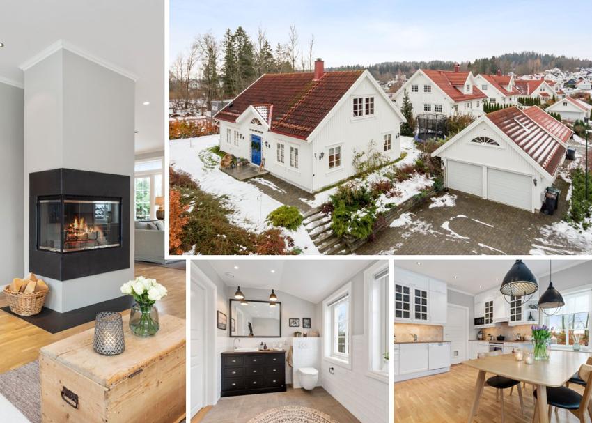 Nedre Dyrhusbakken 7 - Nyere villa i idylliske Vollen til salgs ved Fredrik von Krogh - Proaktiv Bolig og Prosjektmegling