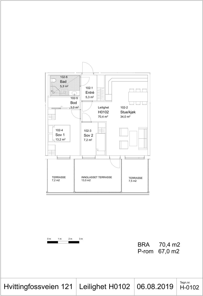 H-0202 Leilighet H0102