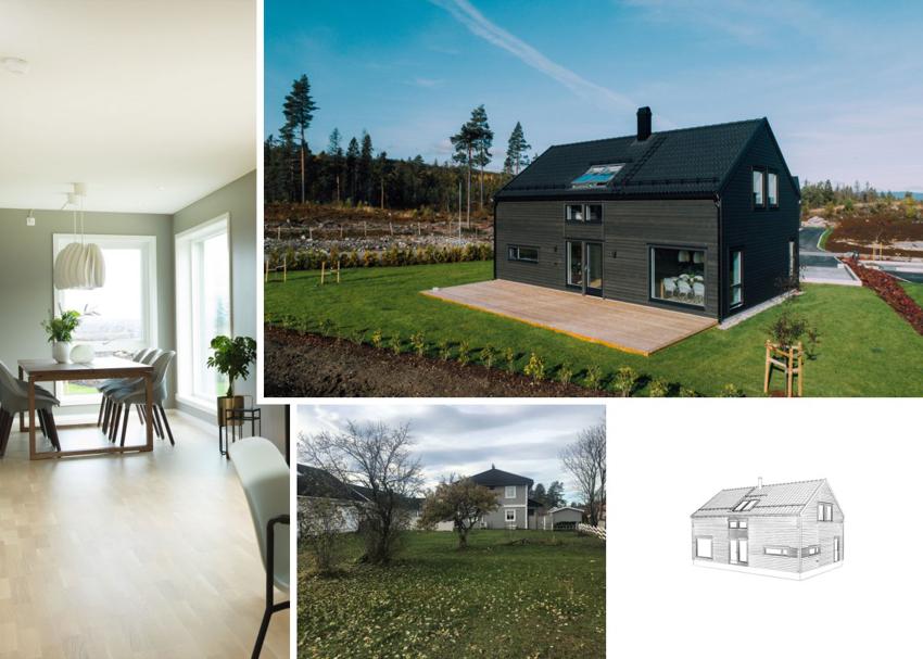 Proaktiv eiendomsmegling v/Miriam Hjemstad har gleden av å presentere Holteløkka 8B, en lekker prosjektert enebolig