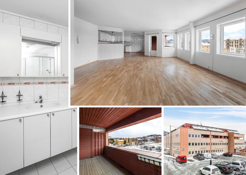 PROAKTIV Eiendomsmegling ved Eirik Døsen presenterer en romslig hjørneleilighet midt i Melhus sentrum!