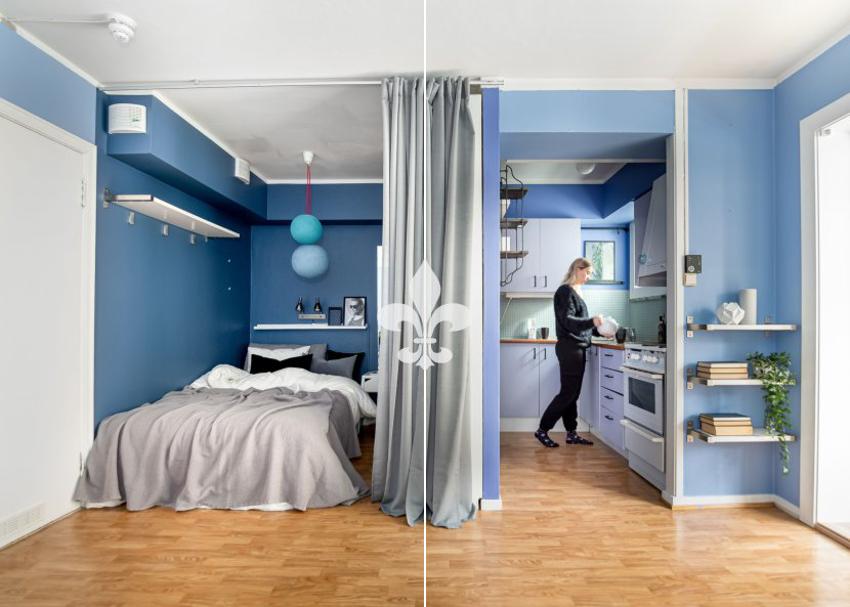 Proaktiv Eiendomsmegling ved Eirik Døsen har gleden av å presentere en flott og urban 1-roms leilighet, perfekt som pendlerbolig, til utleie, eller for den som skal inn på markedet for første gang!