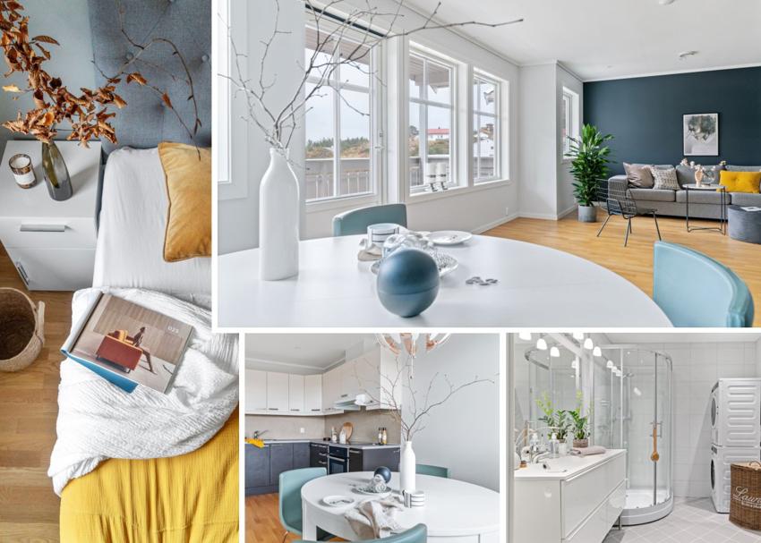 Nydelig 3- roms leilighet i landlige og fredelige omgivelser