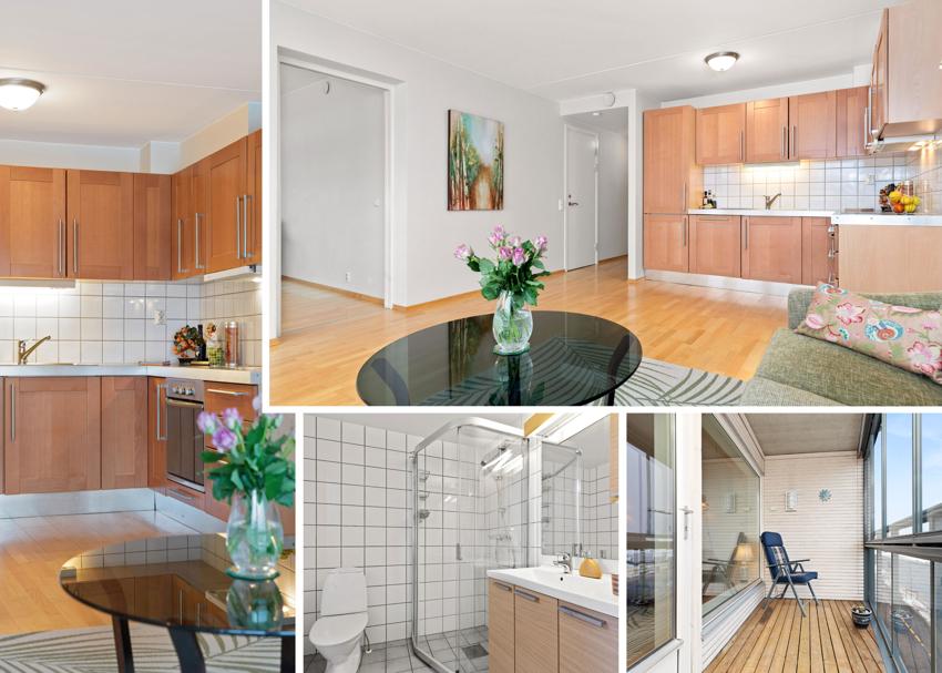 Proaktiv Eiendomsmegling v/Kenneth Vårvik har gleden av å presentere denne flotte leiligheten midt i Heimdal sentrum.