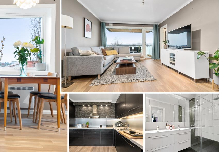 PROAKTIV Eiendomsmegling ved Christian Schjetne presenterer en meget godt beliggende leilighet i 3. etasje, sentralt på Nardo.