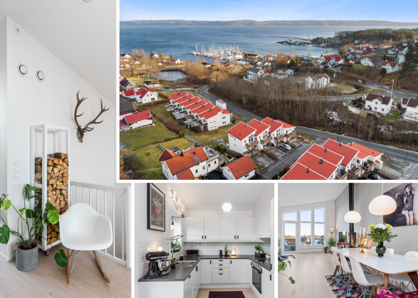 Velkommen til Blomsterstykket 41 - et lekkert rekkehus i populære Vollen - til salgs ved Fredrik von Krogh - Proaktiv Bolig og Prosjektmegling.