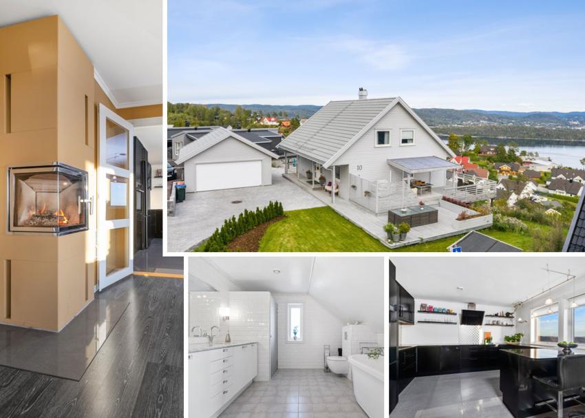 Nyere villa med fortryllende utsikt i Solsikken 10 til salgs ved Stein Erik Lie  - Proaktiv Bolig og Prosjektmegling.