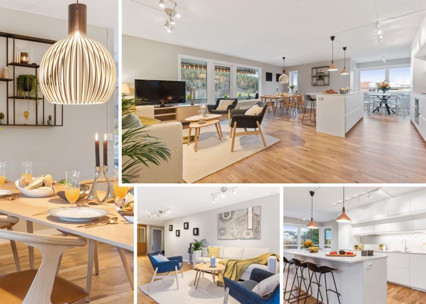 Nyoppusset og lekker leilighet i Åmotlia 5 til salgs ved Fredrik von Krogh - Proaktiv Bolig og Prosjektmegling.