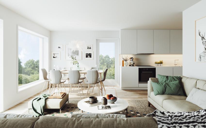 Ny 3-roms til salgs ved Fredrik von Krogh - Proaktiv Bolig og Prosjektmegling.