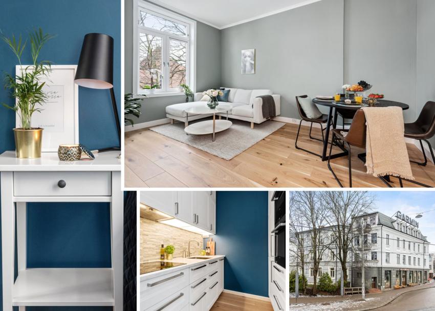 Moderne og nyoppusset 2-roms leilighet på beste Bislett til salgs ved Lasse Bastrup - Proaktiv Bolig og Prosjektmegling.