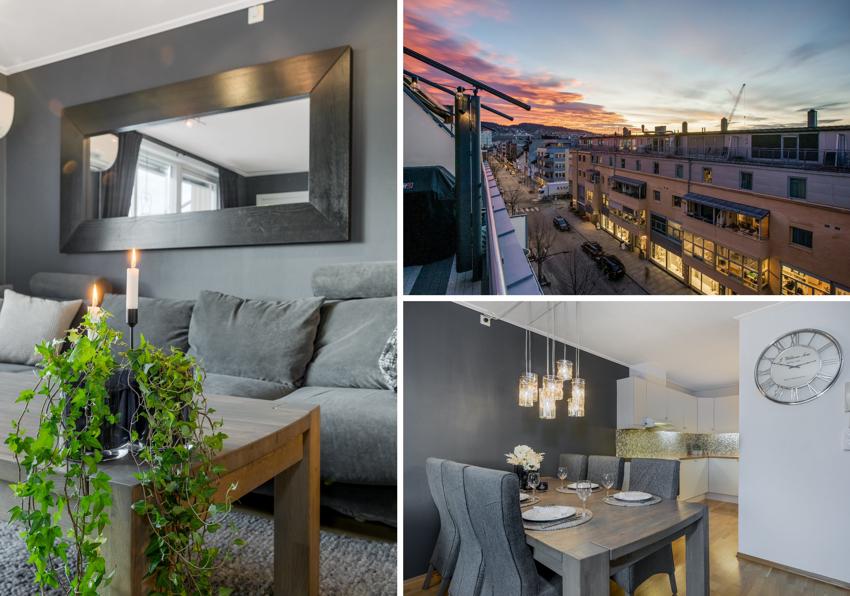 Proaktiv Eiendomsmegling har gleden av å presentere Parkalleen 4A - beliggende midt i sentrumskjernen i Lillestrøm.