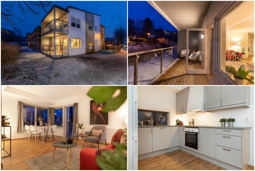 Proaktiv Eiendomsmegling ønsker velkommen til en moderne 3-roms leilighet fra 2017 i Vestengveien 22.